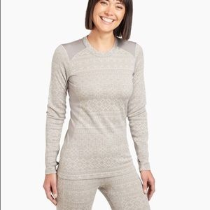 Kuhl thermal base layer merino wool set xs